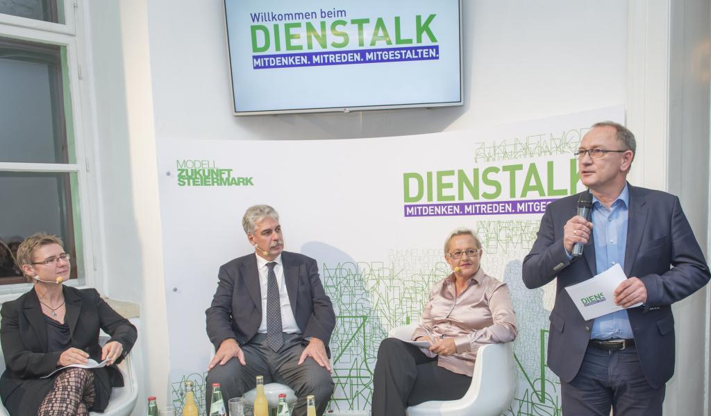 Margit Schratzenstaller, Hans Jörg Schelling, Heidi Glück, Detlev Eisel-Eiselsberg © STVP/Fischer