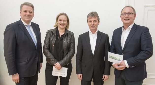 Andrä Rupprechter, Corinna Milborn, Friedrich Santner, Detlev Eisel-Eiselsberg  © Foto Fischer