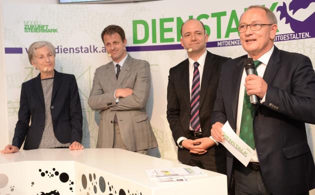 Irmgard Griss, Michael Fleischhacker, Thomas Hofer, Detlev Eisel-Eiselsberg    © STVP/Foto Fischer