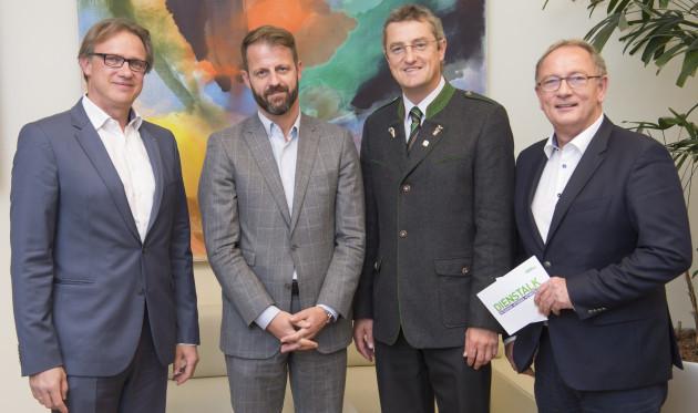 Christoph Holzer, Michael Fleischhacker, Franz Tonner, Detlev Eisel-Eiselsberg   © STVP/Fischer