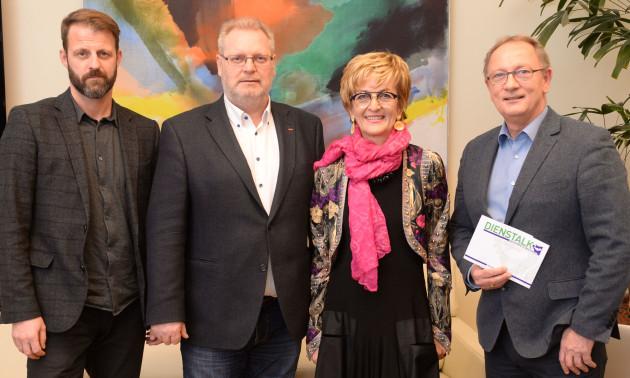 Michael Fleischhacker, Horst Schachner, Angelika Kresch, Detlev Eisel-Eiselsberg   © STVP/Fischer