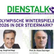 DiensTalk: Olympische Winterspiele2026 in der Steiermark?